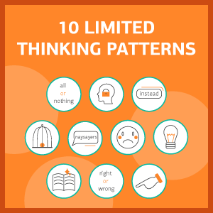 limited thinking patterns