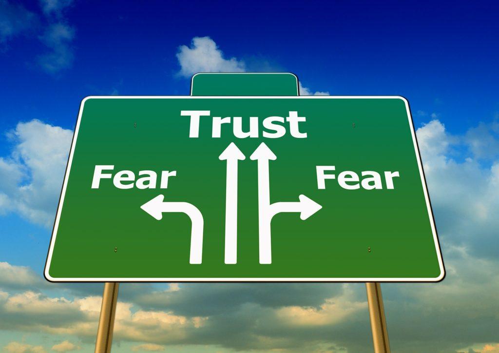 trust vs fear
